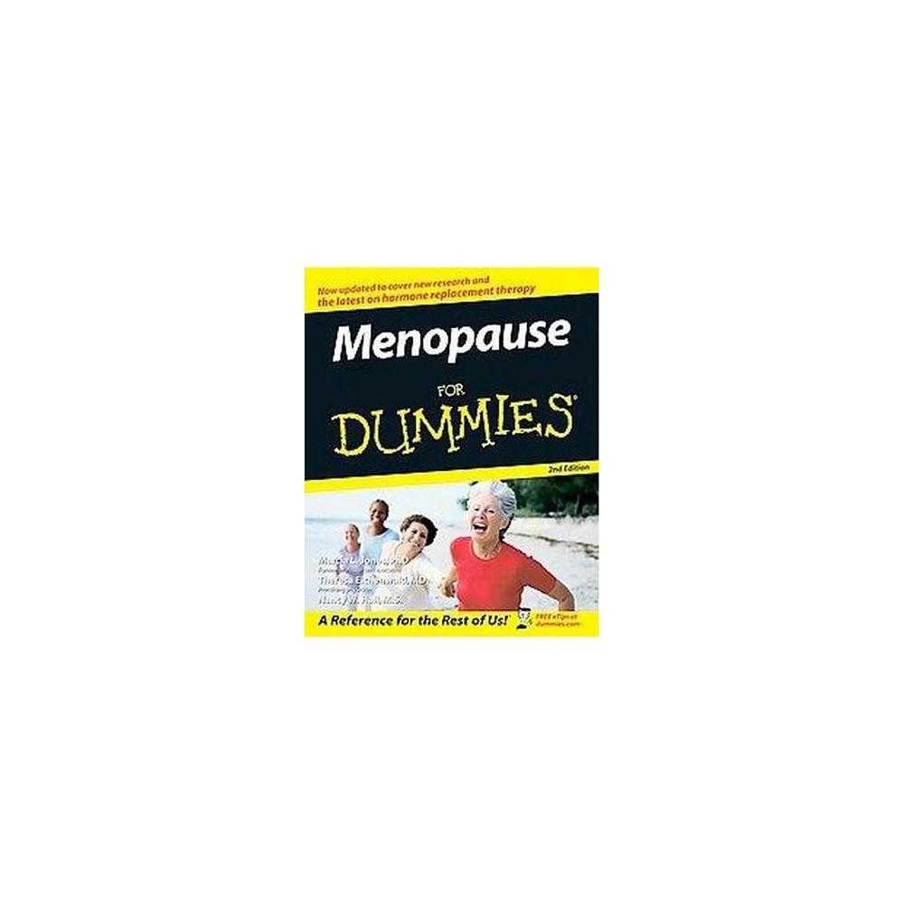 Menopause for Dummies (Paperback) (Ph.D. Marcia L. Jones & M.D. Theresa Eichenwald & Nancy W. Hall)