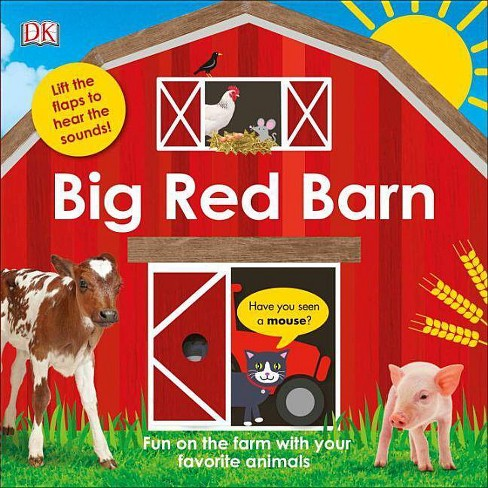 Big Red Barn -  by Carrie Love (Hardcover) - image 1 of 1