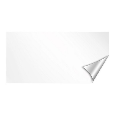 """Wall Pops!  Dry Erase Board Decal 13"""" x 26"""" - White"""