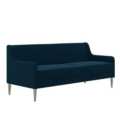 Virginia Sofa Modern Living Room Cushioned Couch with Steel Legs - Cosmoliving By Cosmopolitan