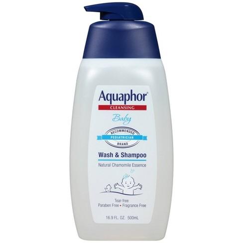 Aquaphor Baby Wash And Shampoo Tear Free Mild For Sensitive Skin 16 9 Fl Oz Target