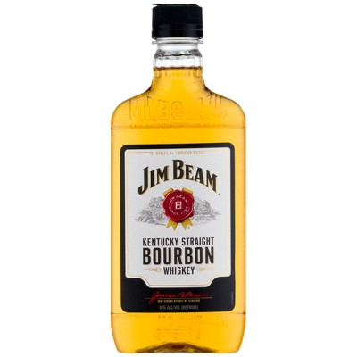 Jim Bean Bourbon Whiskey - 375ml Plastic Bottle