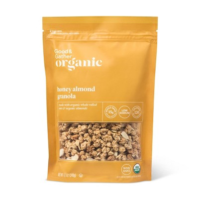 Honey Almond Granola - 12oz - Good & Gather™