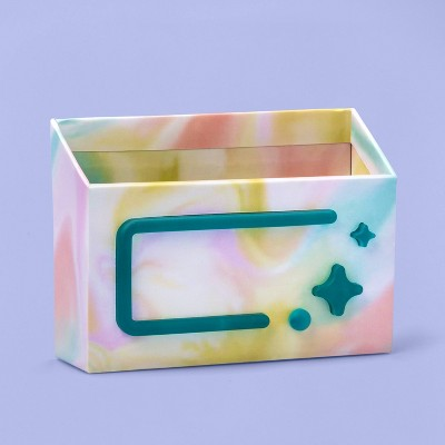 More Than Magic™ Locker Pencil Cup w/ Led Light - Pastel Marble