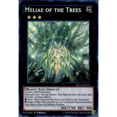 MP14-EN165 1st Edition Near Mint Secret Rare YuGiOh Meliae of the Trees