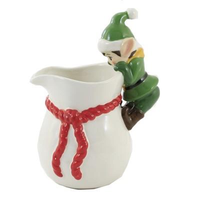 "Tabletop 7.0"" Elf Pitcher Kitchen Christmas Gnome One Hundred 80 Degree  -  Beverage Servers"
