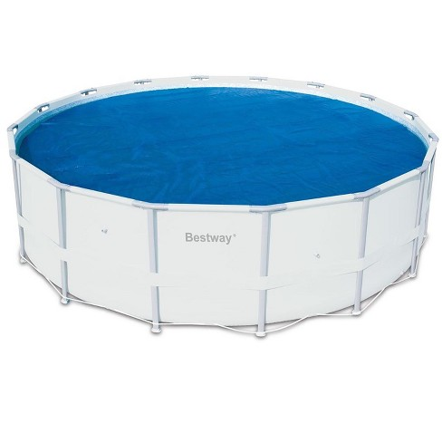 Bestway 14 Round Floating Above Ground Swimming Pool Solar Heat Cover 58252e Target