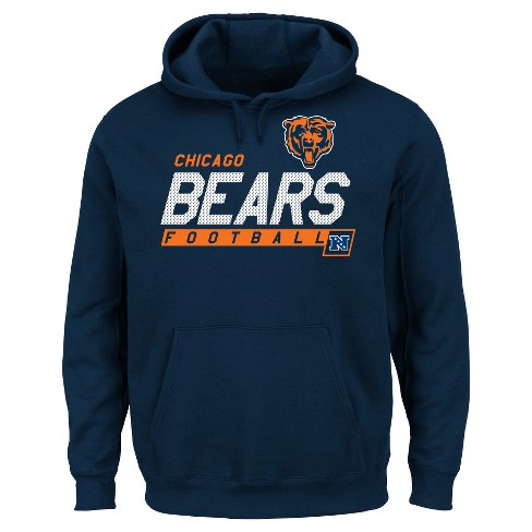 size 40 657a0 28f5d Chicago Bears Men's Big & Tall Team Pride Fleece Pullover Hoodie Sweatshirt  - 3XL Tall