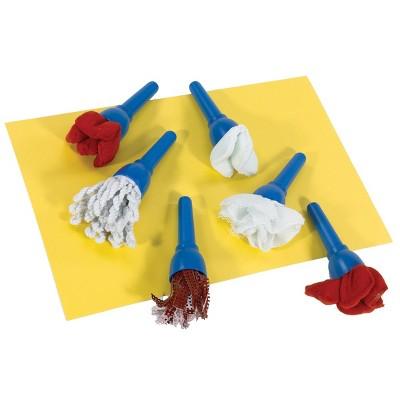 Creative Minds Fabric Brushes  - Set of 6