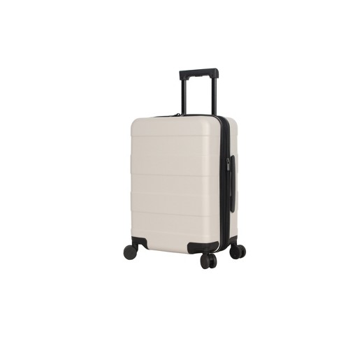 """Hardside Carry On Spinner Suitcase 20"""" Tan - Made By Design™ - image 1 of 10"""