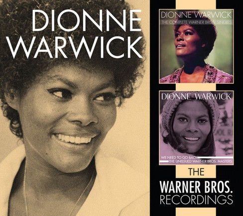 Dionne warwick - Warner bros recordings (CD) - image 1 of 1