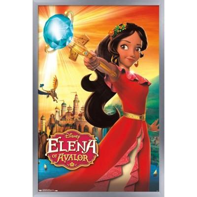 Trends International Disney Elena of Avalor - One Sheet Framed Wall Poster Prints
