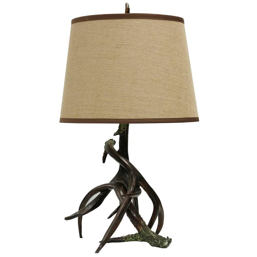Dalton Table Lamp Dark Chocolate Stylecraft