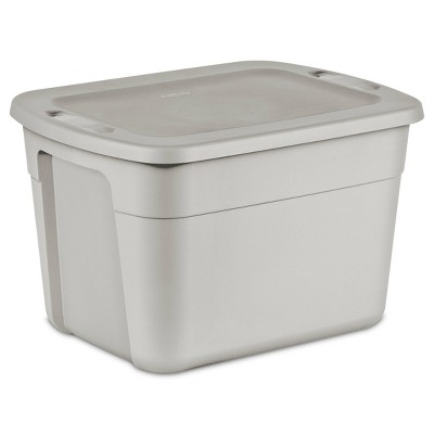 18gal Tote Gray - Room Essentials™