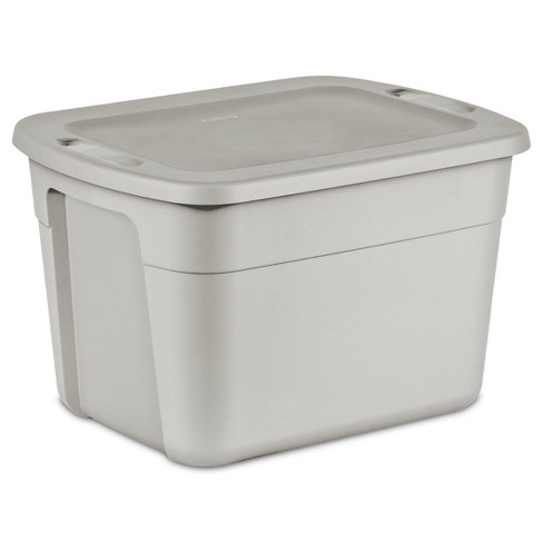 18gal Tote Gray - Room Essentials™ - image 1 of 3