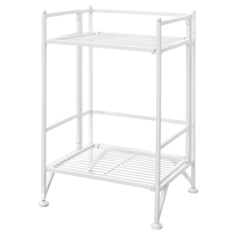 Decorative Bookshelf 20.5 White - Convenience Concepts