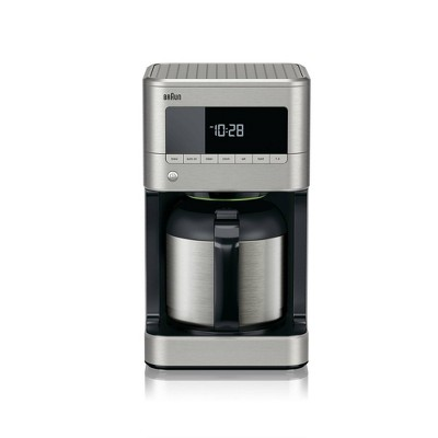 BrewSense 10-cup Drip Coffee Maker with Thermal Carafe - KF7175SI - Stainless Steel