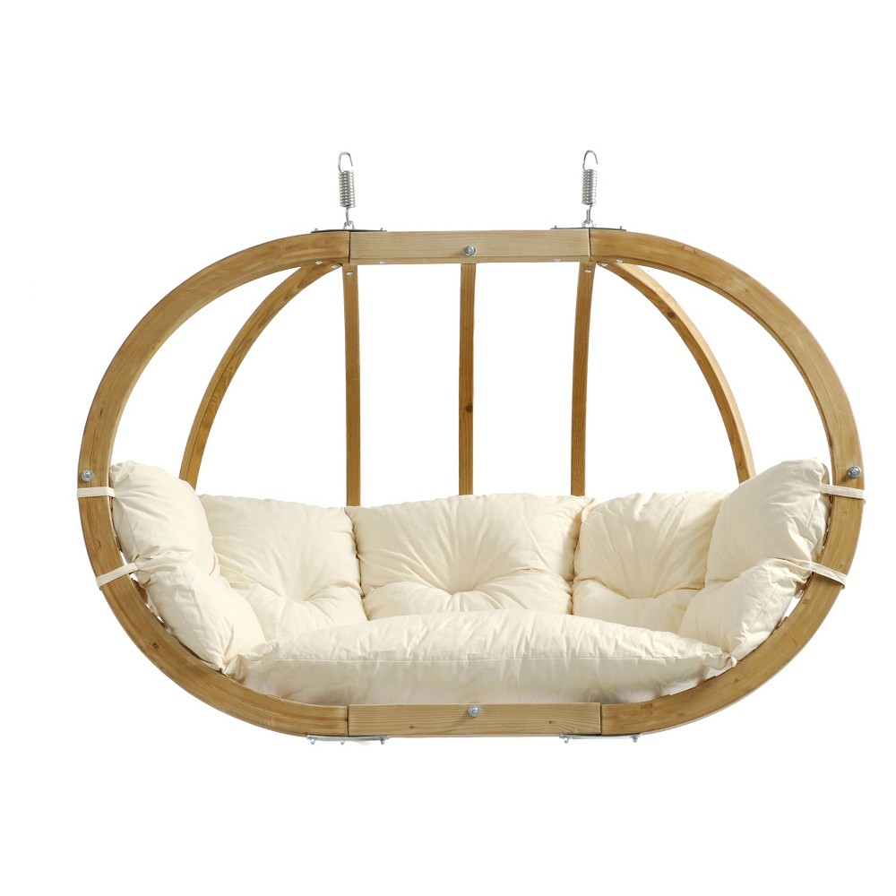 Image of Globo Double Patio Swing Natural - Byer of Maine