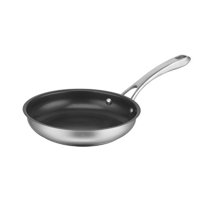 "Cuisinart Classic 8"" Stainless Steel Non-Stick Skillet-8322-20NS"