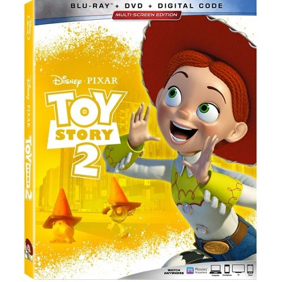 Toy Story 2 (Blu-Ray + DVD + Digital)