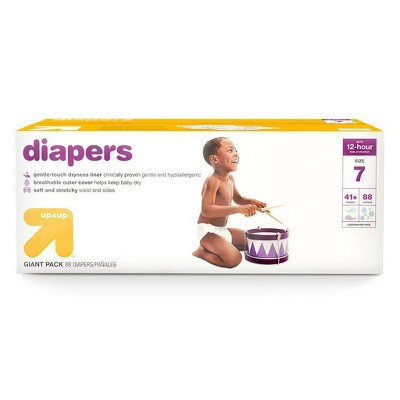 Diapers - up & up™ - (Select Size and Count)
