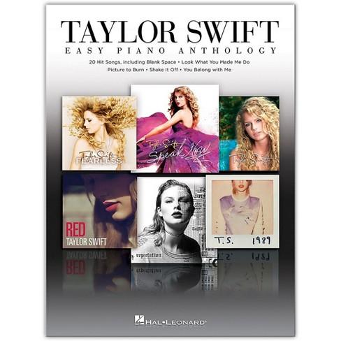Hal Leonard Taylor Swift - Easy Piano Anthology - image 1 of 1