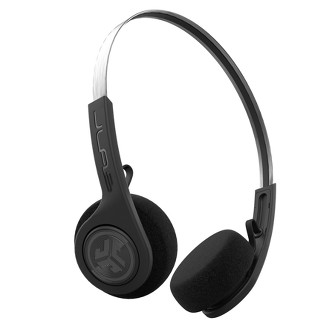 JLab Rewind Wireless Retro Headphones - Black (RWINDRBLK4)