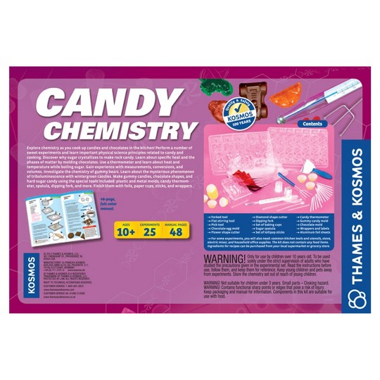 Thames and Kosmos Candy Chemistry image number null
