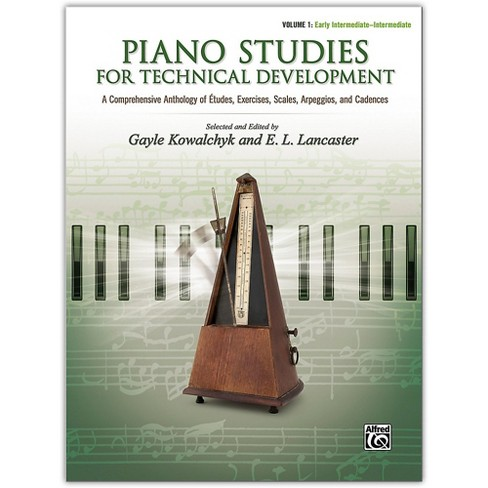 Alfred Piano Studies for Technical Development, Volume 1 Early Intermediate / Intermediate - image 1 of 1