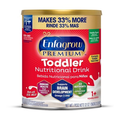 Enfagrow Vanilla Toddler Powder Formula - 32oz