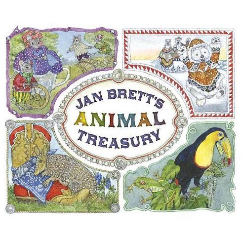 Jan Brett's Animal Treasury - (Hardcover) - image 1 of 1