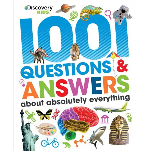 1001 Questions & Answers About Absolutely Everything (Hardcover) - image 1 of 1