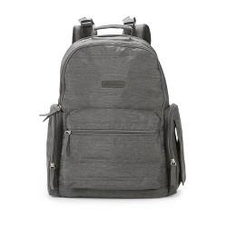 Eddie Bauer Qulit Back Pack Diaper Bag - Gray Heather