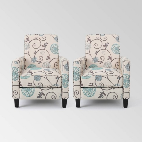 Set of 2 Darvis Contemporary Recliners - Christopher Knight Home - image 1 of 4