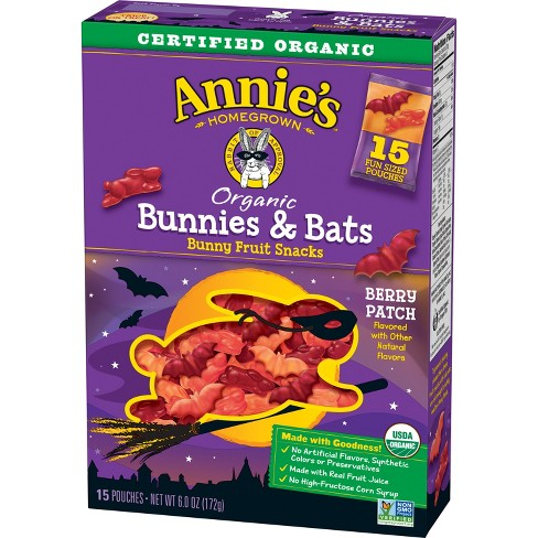 Annie's Bunnies & Bats Fruit Snacks - 6oz - image 1 of 3