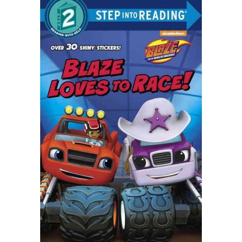 Blaze Loves to Race! (Blaze and the Monster Machines) - (Step Into Reading - Level 2) (Paperback) - image 1 of 1