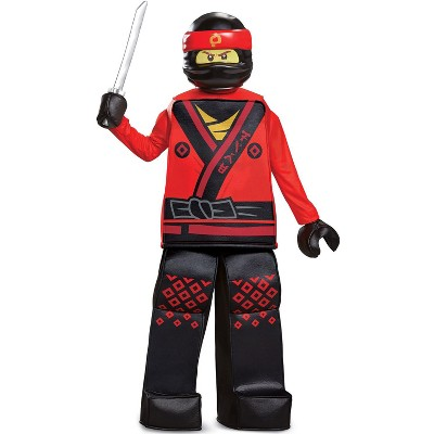 Ninjago Kai Movie Prestige Child Costume