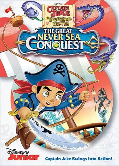 Captain Jake And The Neverland Pirates: The Great Never Sea Conquest (DVD Video) - image 1 of 1