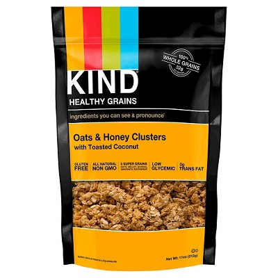 KIND Healthy Grains Oats & Honey Clusters - 11oz