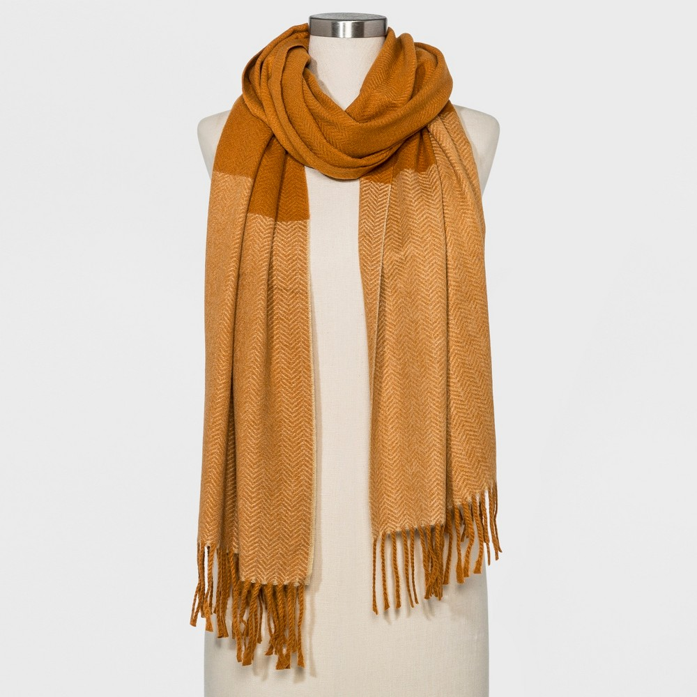 Women's Woven Oblong Scarf - Universal Thread Rust (Red)