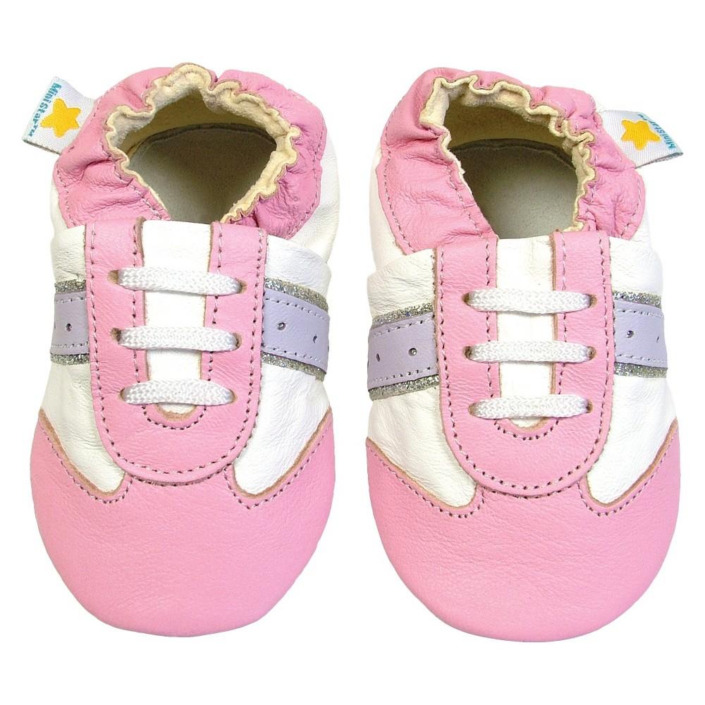 Ministar Baby Girls' Slipper - Multi L, White
