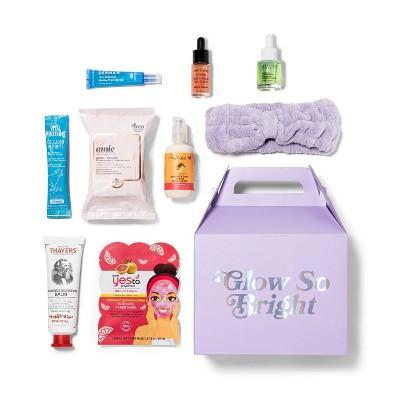Target Beauty Capsule Glow So Bright Beauty Sample Box - 9pc