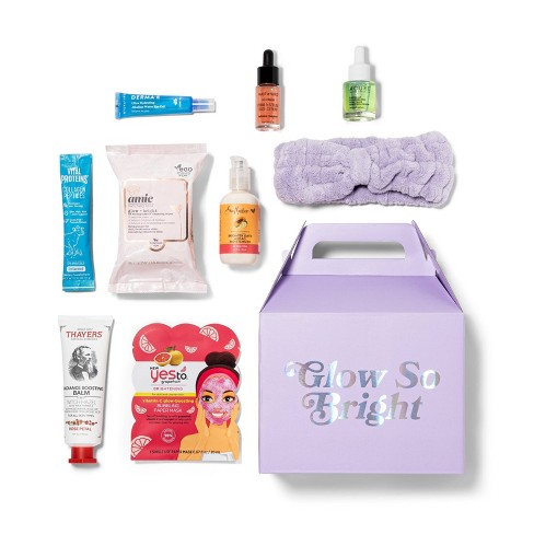 Target Beauty Capsule Glow So Bright Beauty Sample Box - 9pc - image 1 of 4