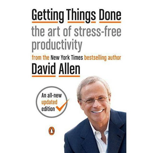Getting Things Done - by  David Allen (Paperback) - image 1 of 1