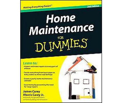 Home Maintenance for Dummies (Paperback) (James Carey) - image 1 of 1