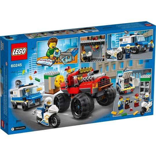 LEGO City Police Monster Truck Heist 60245 Building Set for Kids image number null