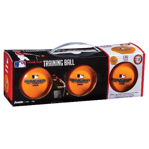 Franklin Sports MLB 12.5oz Home Run Training Ball-3 Pack - image 1 of 2