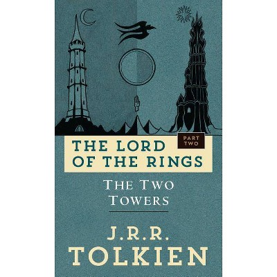 The Two Towers - (Lord of the Rings) by  J R R Tolkien (Paperback)