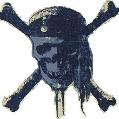 Pirates Carribean Worlds End Skull Large Wall Accent - Pirates of the Caribbean..