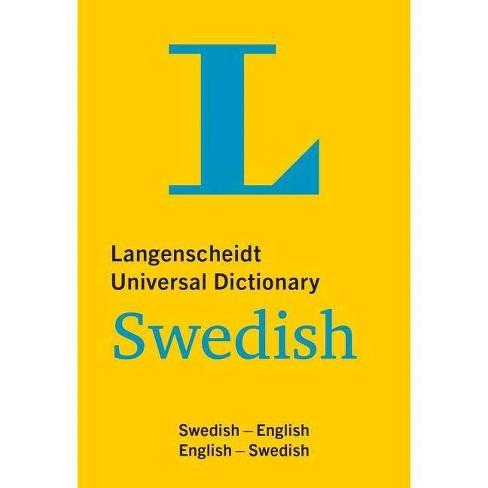 Langenscheidt Universal Dictionary Swedish - (Paperback) - image 1 of 1